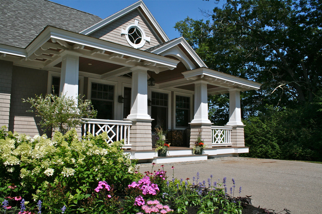 Shingle Style Architecture Cottage Style York Maine