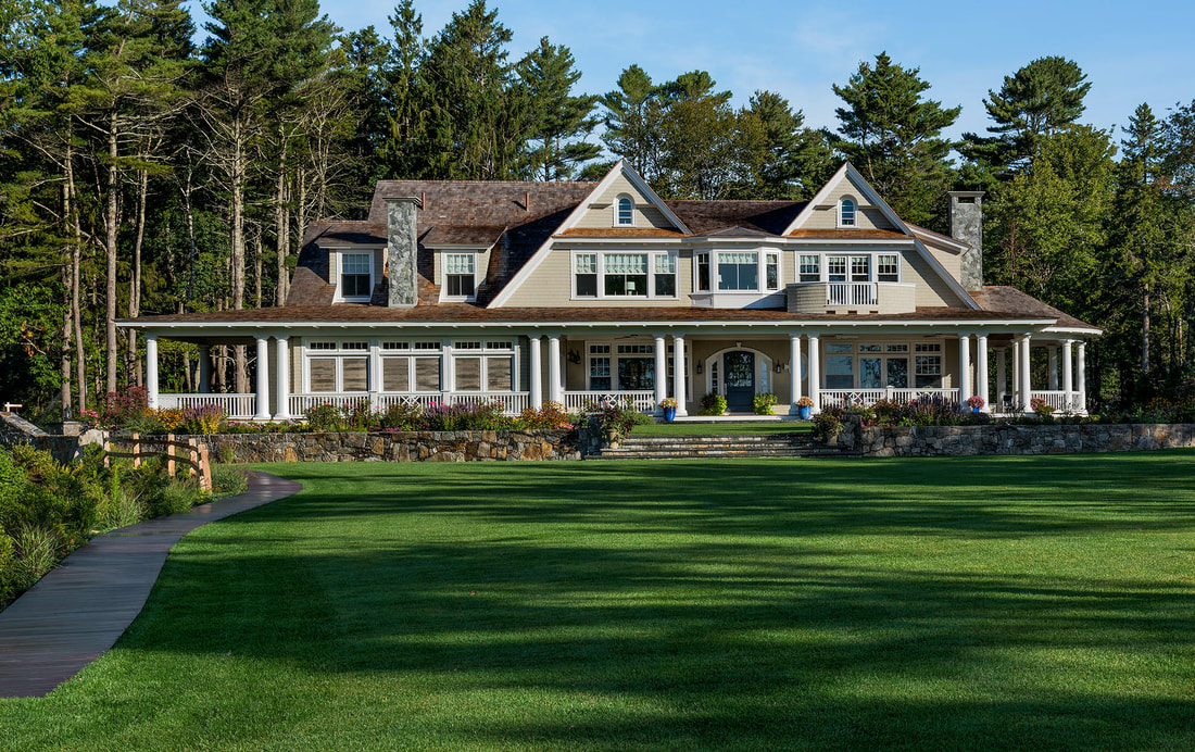 Shingle Style Architecture Kennebunk Maine